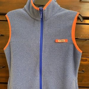Columbia fleece vest. Size medium